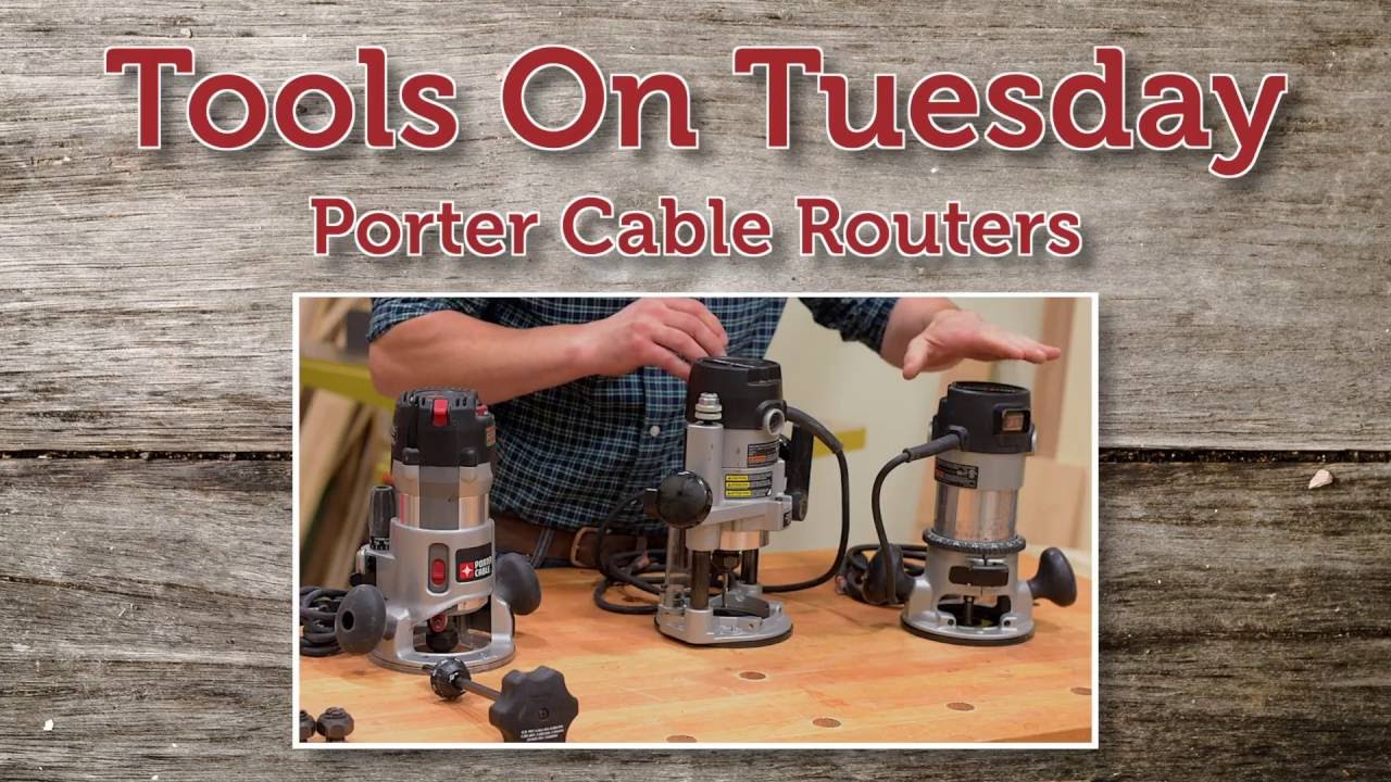 tools on tuesday porter cable 890 series router youtube rh youtube com Porter Cable 690 890 porter cable 890 owners manual