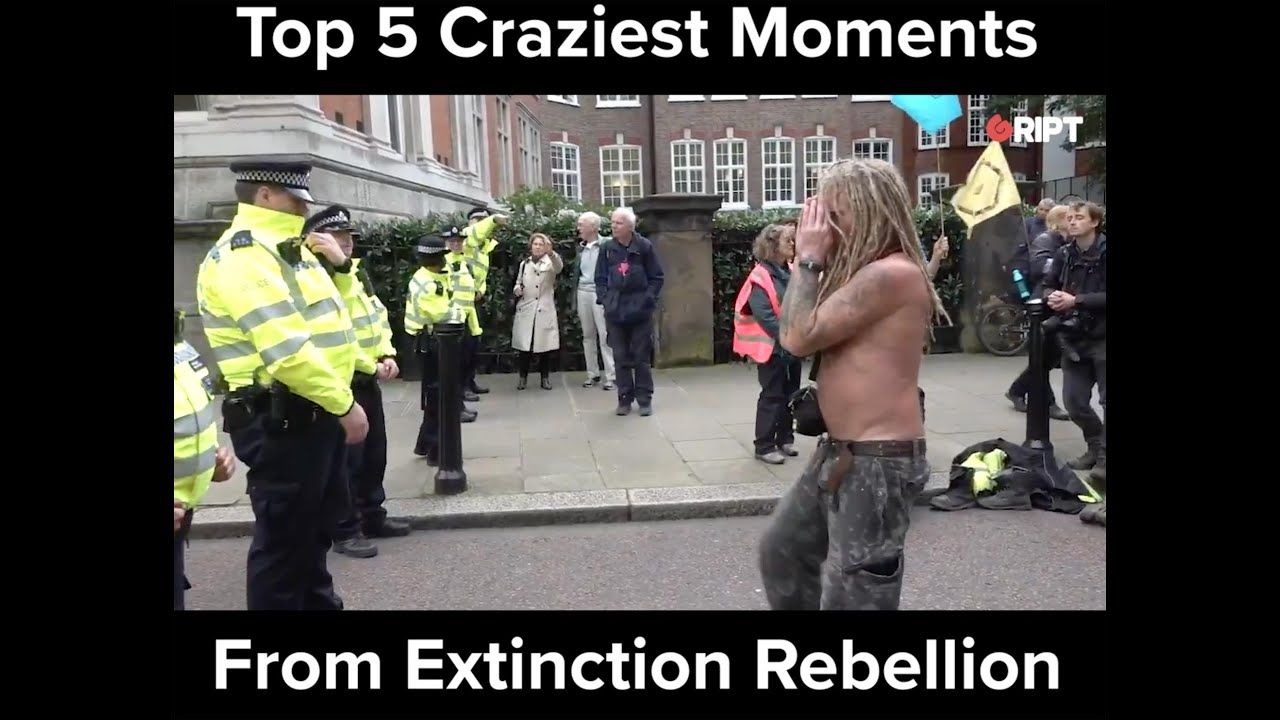 Top 5 Crazy Moments From Extinction Rebellion