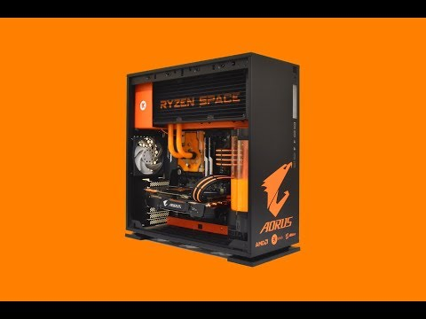 RYZEN SPACE - 3000 € - Custom GAMING PC - case mod