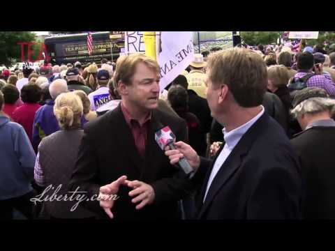 Ron Futrell talks with Congressman Dean Heller in Reno