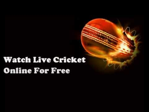 Watch Live Cricket Match Online For Free - YouTube