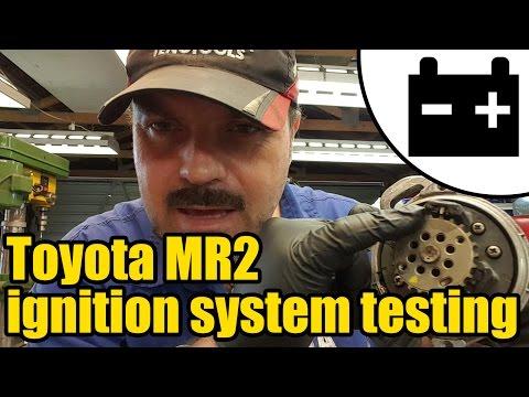Toyota MR2 ignition system testing #1420
