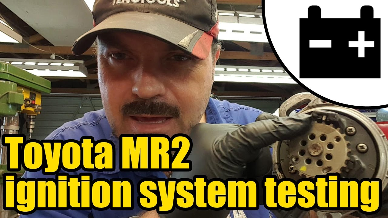 Toyota Mr2 Ignition System Testing 1420 Youtube Engine Wiring Diagram 85