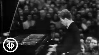 Играет Ван Клиберн. Подмосковные вечера (1958) Van Cliburn. Moscow Nights
