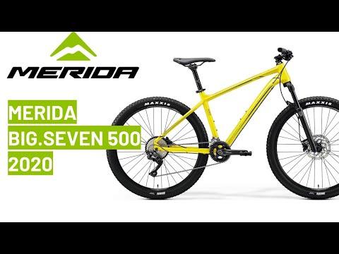 Merida BIG.SEVEN 500 2020: bike review