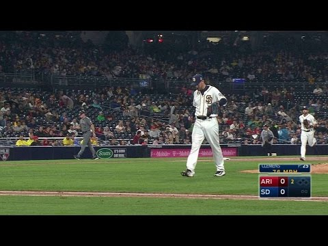 ARI@SD: Clemens strikes out Drury in the 2nd