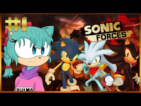 Bulma plays Sonic Forces #1 - Creating Bunny