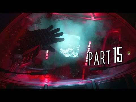 Alien Isolation Walkthrough Gameplay Part 15 - Left for Dead (PS4)