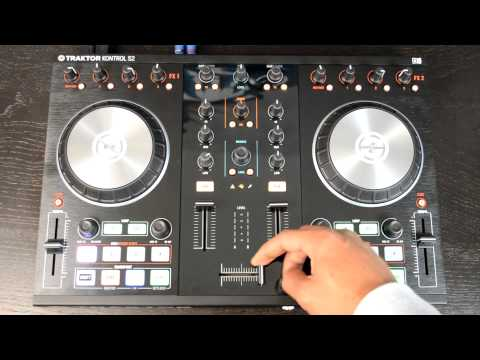 Native Instruments Traktor Kontrol S2 MK2 Digital DJ Controller Review & Demo Video