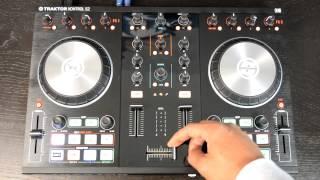 native Instruments Traktor Kontrol S2 MK2 Digital DJ Controller Review & Demo Video