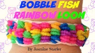 BOBBLE FISH Rainbow Loom Tutorial