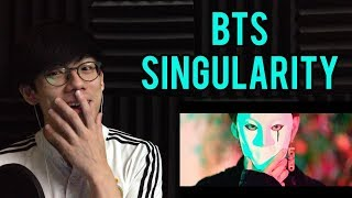 BTS (방탄소년단) LOVE YOURSELF 轉 Tear 'Singularity' Comeback Trailer Reaction (BTS Singularity Reaction)