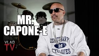 Mr. Capone-E on Growing Up with Sureño Mexican Gang, Not Revealing His Race