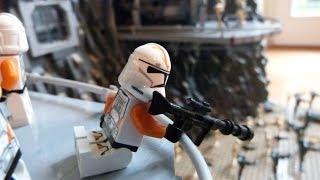 LEGO Star Wars  HUGE Clone Base on Utapau MOC
