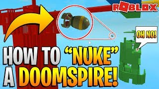 ROBLOX DOOMSPIRE BRICKBATTLE - NUKE IN DOOMSPIRE!? *THIS IS SO OP*
