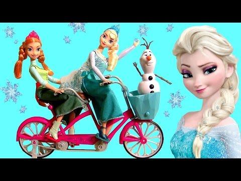 Bicicleta Musical Da Princesa Anna Elsa Disney Frozen Congelante