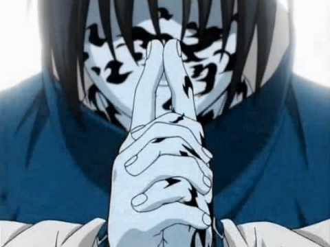 Sasuke's Curse Mark - YouTube
