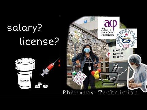 Pharmacy Technician In Canada|| Salary, License || 🎓💰💊💉 #buhaycanada #pinoyincanada