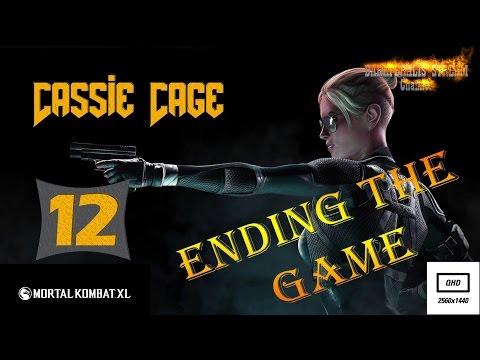 Прохождение Mortal Kombat XL ► Глава 12: Кэсси Кейдж *Финал* (2016) [PC] [Рус]