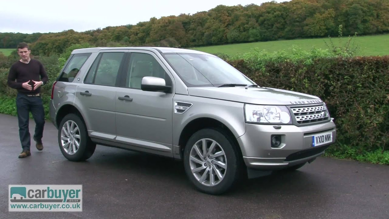 land rover freelander suv review carbuyer youtube. Black Bedroom Furniture Sets. Home Design Ideas