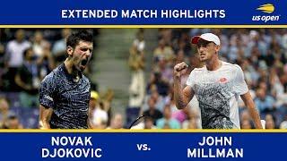 Extended Highlight: Novak Djokovic vs. John Millman | 2018 US Open, QF