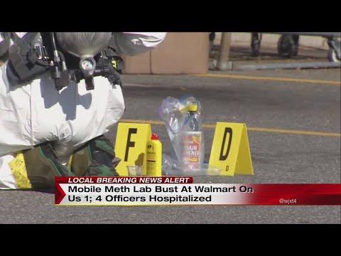 Mobile meth lab bust