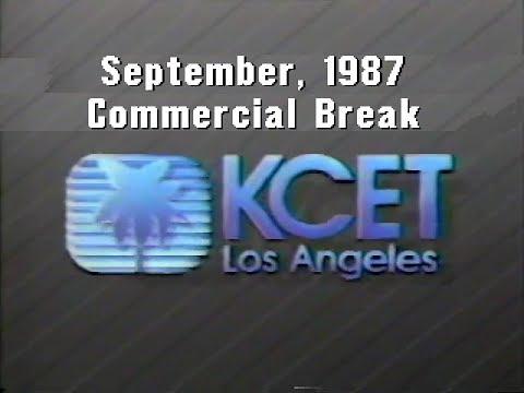 KCET Channel 28: September, 1987 Commercial Break