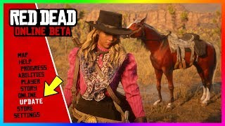 Red Dead Online - NEW UPDATE! Law And Bounty Changes, NEW Weapons And Clothing & MORE! (RDR2 Online)