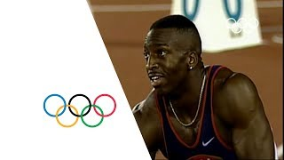 Video Michael Johnson Breaks 200m & 400m Olympic Records - Atlanta 1996 Olympics download MP3, 3GP, MP4, WEBM, AVI, FLV Mei 2018