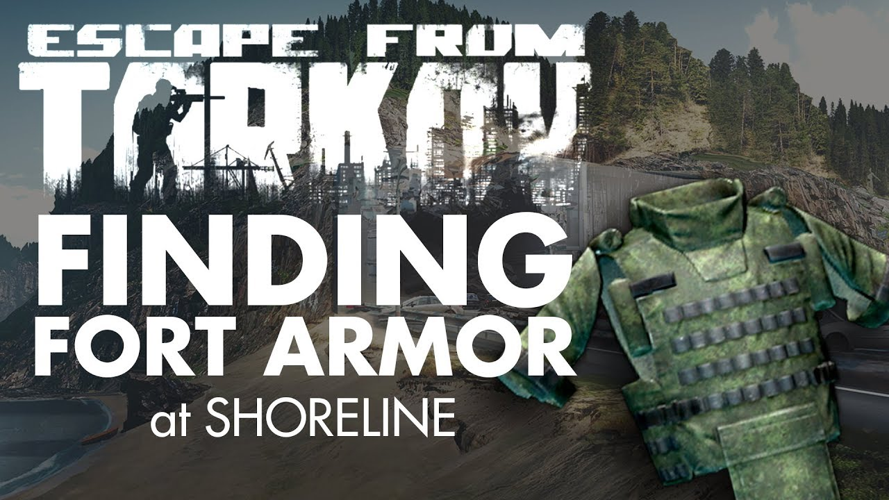 Escape from Tarkov - Finding Fort Armor at Shoreline from a Scav