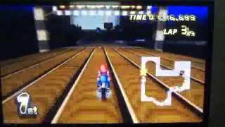 Mario Kart Wii game play because I miss it so MUCH!!!!!!!!!