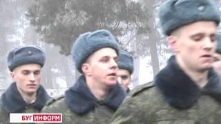 2015-12-04 г. Брест.  Пополнение в 115 зенитном-ракетном полку. Телекомпания Буг-ТВ.