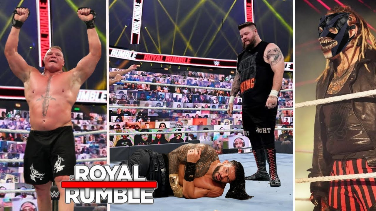 WWE Royal Rumble 2021 Winners Surprises and Results | Roman Reigns | The  Fiend Return