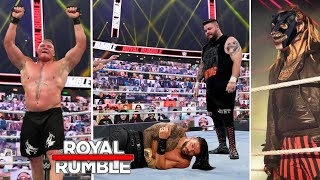 Wwe royal rumble 2021 highlights winners surprises and results ! winner of roman reigns vs kevin owens universal championship match drew mcintyre sheamu...