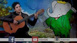 بابار فيل مع الكلمات والتابات | Babar The Elephant | أغاني الكرتون