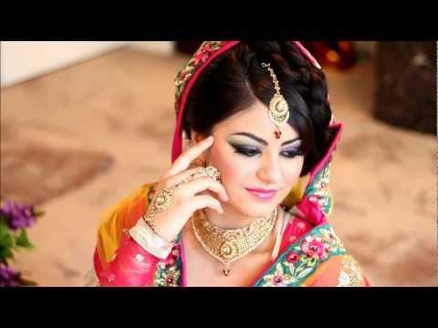 Asian Bridal Wedding Makeup Tutorial Mughal style by Mus ...