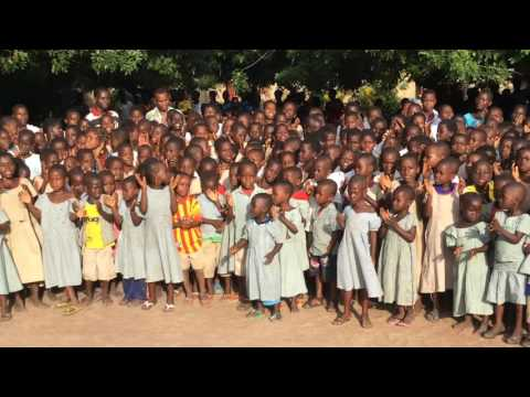 2016 Grade School Children Singing Togo Mission Parish