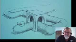 """How To Draw  """"The Early Artist Get"""