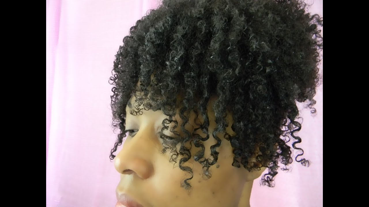 How I Define My Curls 4a 4b 4c Natural Hair Tutorial