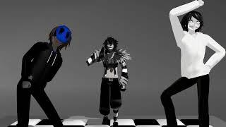Крипи-Паста танец- Джеффа Убийцы, Безглазого Джека, Смеющегося Джека.