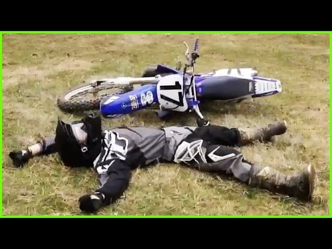 FUNNY DIRT BIKE CRASHES & FAILS 2017