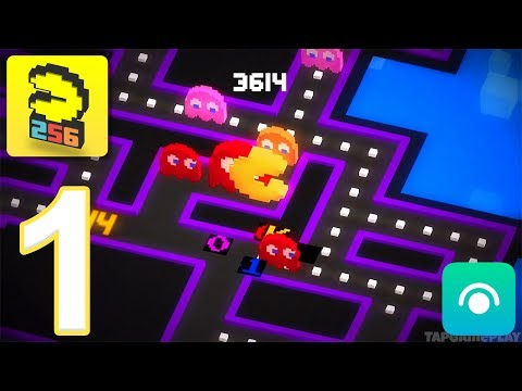 PAC-MAN 256 - Gameplay Walkthrough Part 1 (iOS, Android)