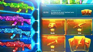 BO3 NEW DLC WEAPON CAMOS SUMMER EVENT UPDATE TODAY! - BLACK OPS 3 TRIPLE PLAY SUPPLY DROP OPENING! thumbnail