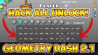 GEOMETRY DASH 2.1 HACK TODO DESBLOQUEADO-ALL UNLOCK