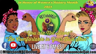 """""""Mt. Vernonite Weekly Recharge"""" 🙏🏾🔌 -3/18/2021 - Women's History Month 2021"""