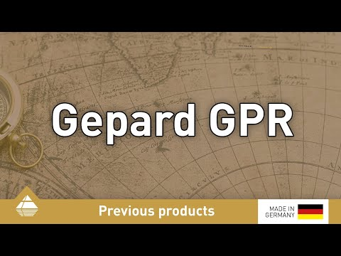 Gepard GPR ground penetrating radar - Applications and functionality