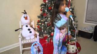 Frozen Karaoke Machine Review Feature With My Frozen Obsessed Niece!