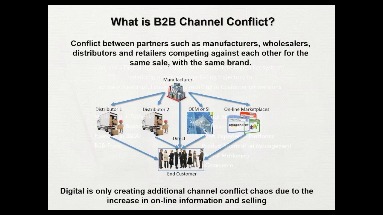 ge appliances distribution and channel conflict
