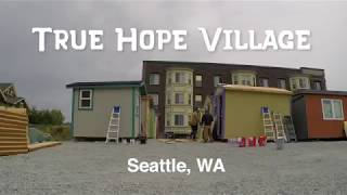 Tiny House Village In Seattle