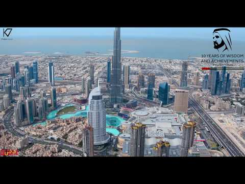 2016 NEW YEAR IN BURJ KHALIFA Dubai 4K FOOTAGE احتفاليه رأس السنه في دبي ٢٠١٦